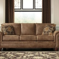 Ashley Faux Leather Sofa Reviews Blue With Chaise Larkinhurst | Furniture Homestore