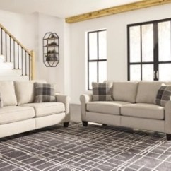 Living Rooms Sets Ideas For Curtains In Room Furnish Your New Home Ashley Furniture Homestore Large Lingen Sofa And Loveseat Set Rollover
