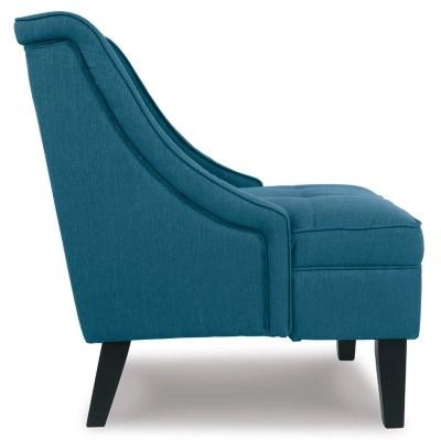 accent chair blue folding cushion clarinda ashley furniture homestore large