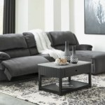 Clonmel 3 Piece Power Reclining Sectional With Chaise Ashley Furniture Homestore