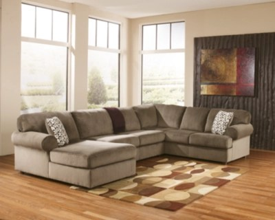 sectional sofas ashley furniture 2 seater chaise end sofa jessa place 3-piece   homestore