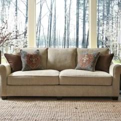 Oatmeal Sofa Leather Living Room Decor Fiera Ashley Furniture Homestore Large