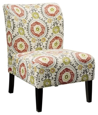 accent chair with arms recliner that stands you up chairs ashley furniture homestore honnally floral
