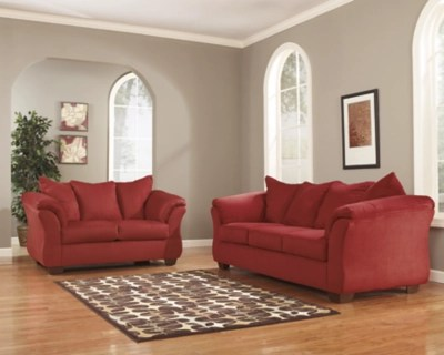 ashley furniture darcy sofa reviews beds with storage space and loveseat | homestore