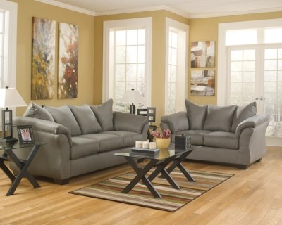 ashley furniture living room sets prices curtains for large window darcy sofa and loveseat | homestore