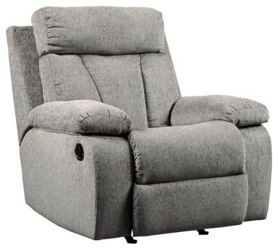 rocker and recliner chair adams adirondack stacking in clay recliners ashley furniture homestore mitchiner large