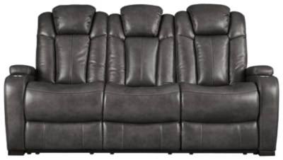 grey power reclining sofa french brands sofas loveseats and recliners ashley furniture homestore turbulance