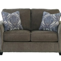 Navasota Charcoal Sofa Ashley Furniture Hilaria Beige Leather Modern Sectional Loveseat | Homestore