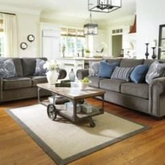 Nailhead Trim Sofa Ashley How To Upholster A Rolled Arm Navasota   Furniture Homestore