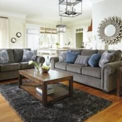 Navasota Charcoal Sofa Ashley Furniture Bantam 86 Loveseat | Homestore