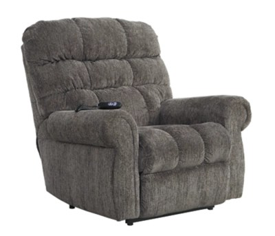 lift recliner chairs for sale office chair footrest attachment recliners ashley furniture homestore ernestine power slate