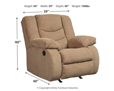 Ashley Furniture Recliner Chairs Tulen Recliner Ashley Furniture Homestore