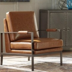Brown Living Room Chairs Bench Designs Accent Ashley Furniture Homestore Large Peacemaker Chair Rollover