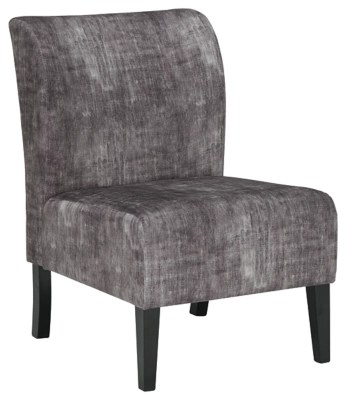 grey and white accent chair posture reddit chairs ashley furniture homestore triptis charcoal