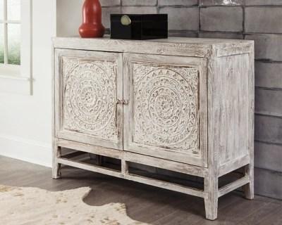 Fossil Ridge Accent Cabinet  Ashley Furniture HomeStore