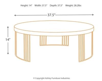 Keelin Mid Century Coffee Table