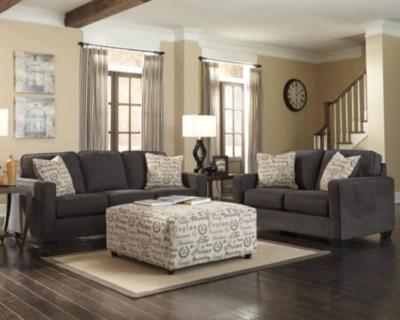 alenya 3 piece living room set charcoal