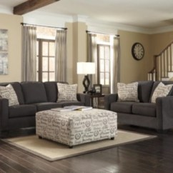 Ashley Living Room Ideas For Wall Colors In Alenya 3 Piece Set Furniture Homestore Charcoal Large