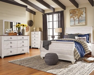 master bedroom sets ashley furniture Willowton 5-Piece Queen Master Bedroom | Ashley Furniture