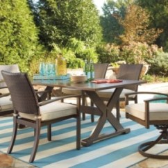 Ashley Furniture Living Room Sets Prices Grey Yellow Design Moresdale 7-piece Outdoor Rectangular Dining Set | ...