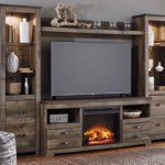 Trinell 4 Piece Entertainment Center With Fireplace Ashley Furniture Homestore