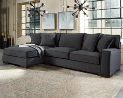 sofa w chaise furniture building plans sectional sofas ashley homestore large gamaliel 2 piece with rollover