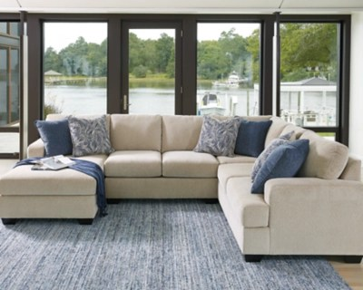 enola 4 piece sectional with chaise large
