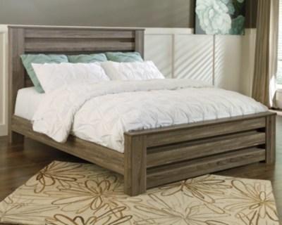 Zelen Queen Panel Bed Ashley Furniture HomeStore