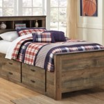 Trinell Twin Bookcase Bed With 2 Storage Drawers Ashley Furniture Homestore