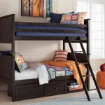 Jaysom Twin Over Twin Bunk Bed With Storage Ashley Furniture Homestore