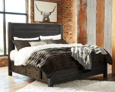 Baylow Queen Panel Storage Bed Ashley Homestore