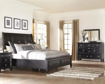 master bedroom sets ashley furniture Greensburg 5-Piece Queen Master Bedroom with Storage