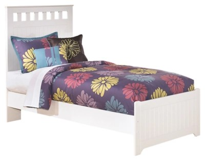 lulu twin panel bed ashley furniture