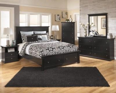 Maribel Queen Storage Bed Ashley Furniture Homestore