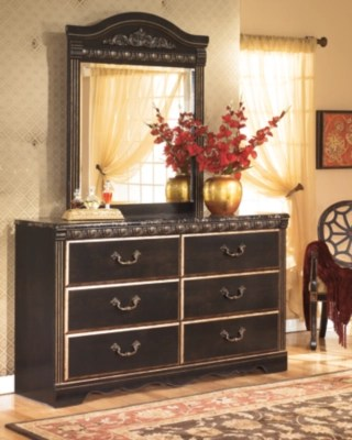 Coal Creek Dresser and Mirror  Ashley Furniture HomeStore