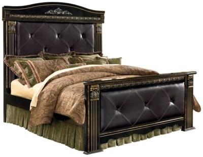 Coal Creek King Mansion Bed Ashley Furniture HomeStore