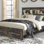Drystan Queen Bookcase Bed With 2 Storage Drawers Ashley Furniture Homestore
