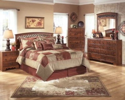 Timberline Queen Panel Bed Ashley Furniture HomeStore