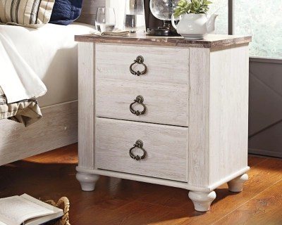 Willowton Nightstand Ashley Furniture Homestore