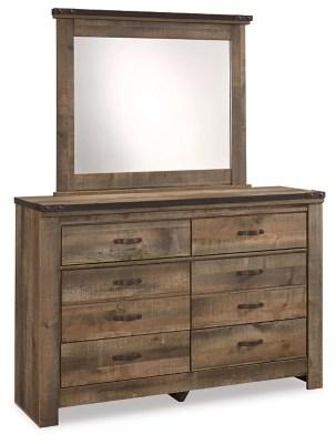 trinell dresser and mirror