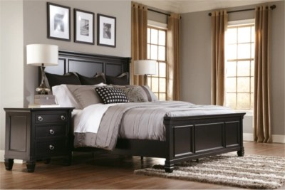discount living room furniture sets fireplace and tv interior design greensburg king panel bed   ashley homestore