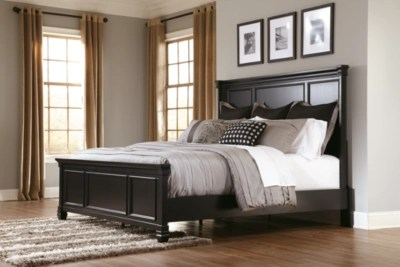 Greensburg Queen Panel Bed  Ashley Furniture HomeStore