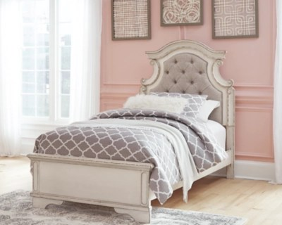 realyn twin panel bed ashley
