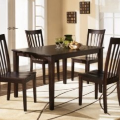 Dinning Room Table And Chairs Adirondack Lounge Chair Hyland Dining Set Of 5 Ashley Furniture Large