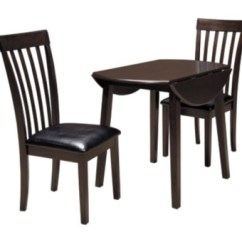 Table And 2 Chairs Cheap Tripp Trapp High Chair Dining Room Sets Move In Ready Ashley Furniture Homestore Hammis 3 Piece