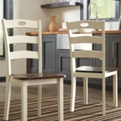 Studded Dining Room Chairs Recliner Chair Stool Ashley Furniture Homestore Large Woodanville Rollover
