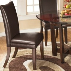 Ashley Furniture Dining Room Chairs Ethan Allen Giselle Chair Charrell Homestore Medium Brown Large