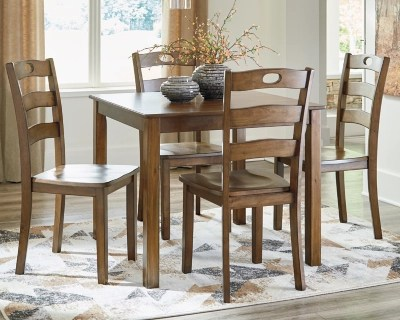 Hazelteen Dining Table And Chairs Set Of 5 Ashley Furniture Homestore