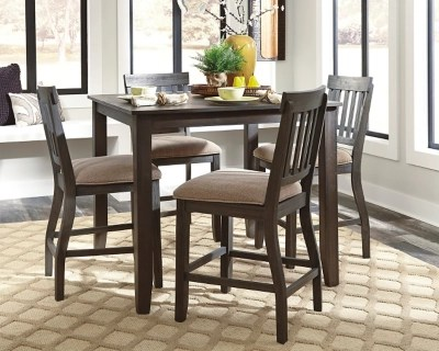 Dresbar Counter Height Dining Room Table  Ashley