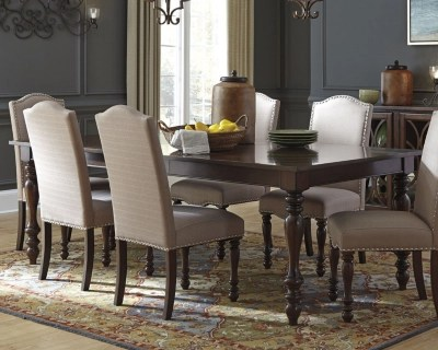 Baxenburg Dining Room Table  Ashley Furniture HomeStore